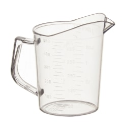Winco Polycarbonate Measuring Cup, 16 Oz, Clear