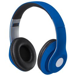 iLive Bluetooth® Wireless Over-The-Ear Headphones, Blue, IAHB48MBU