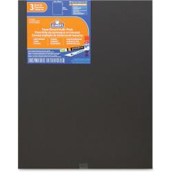 "Elmer's 3-pack Black Foam Boards - Mounting, Frame, School Project, Craft - 0.60"" x 16""20"" - 3 / Pack - Black - Foam"