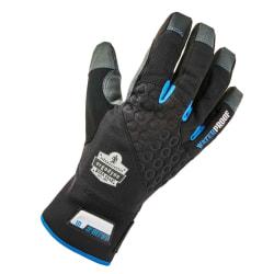 Ergodyne ProFlex 817WP Reinforced Thermal Waterproof Utility Gloves, Small, Black