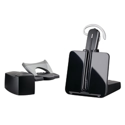 Plantronics® CS540 Wireless Office Phone Headset With HL10 Lifter, Black/Silver