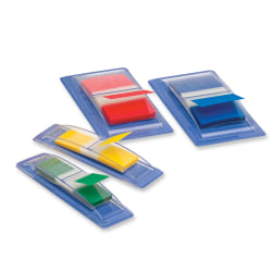 """Sparco Removable Flags Combo Pack, 1"""" x 1/2"""", Assorted Colors, Pack Of 270"""