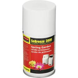 Rubbermaid Commercial SeBreeze Fragrance Can Refill - Aerosol - 6000 ft³ - Spring Garden - 12 / Carton - Odor Neutralizer