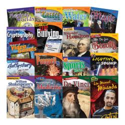 Teacher Created Materials TIME 17-Book Set, Set 1, Grades 6 - 8