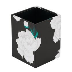 See Jane Work® Floral Pencil Cup, Black