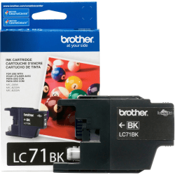 Brother Innobella LC71BK Ink Cartridge - Inkjet - Standard Yield - 300 Pages - Black - 1 Each