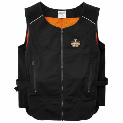 Ergodyne Chill-Its Phase Change Cooling Vest, Small/Medium, Black, 6255