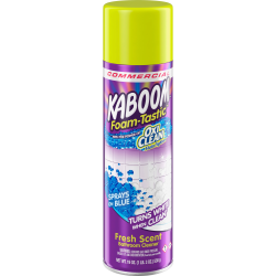 Kaboom Foam-Tastic Bathroom Cleaner - Foam Spray - 19 fl oz (0.6 quart) - Fresh Scent - 1 Each - Clear