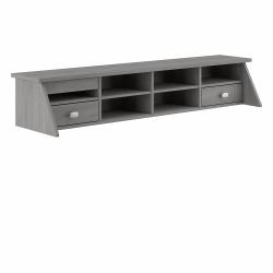 Bush Furniture Broadview Desktop Organizer, Modern Gray, Standard Delivery