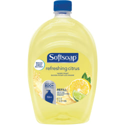 Softsoap® Liquid Hand Soap Refill, Refreshing Citrus Scent, 50 Fl Oz Pour Bottle