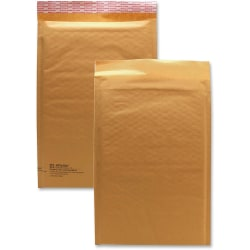 "Sealed Air JiffyLite Cellular Cushioned Mailers - Bubble - #3 - 8 1/2"" Width x 14 1/2"" Length - Peel & Seal - Kraft - 25 / Carton - Kraft"