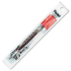 Pentel® EnerGel™ Liquid Gel Pen Refills, Bold Point, 1.0 mm, Red Ink