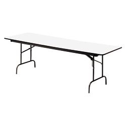 "Iceberg Premium Folding Table, Rectangular, 60""W x 30""D, Gray/Charcoal"