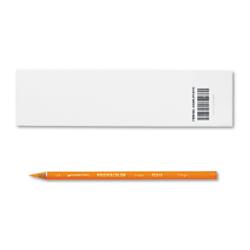 Prismacolor Thick Core Colored Pencils - Orange Lead - Orange Barrel - 1 Dozen
