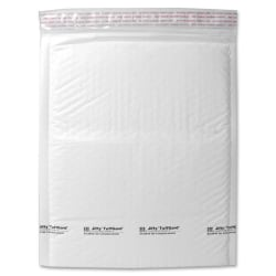 "Sealed Air Tuffgard Premium Cushioned Mailers - Bubble - #6 - 12 1/2"" Width x 19"" Length - Peel & Seal - Poly - 25 / Carton - White"