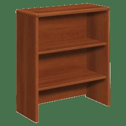 HON® 10700 Series Laminate Bookcase Hutch, Cognac