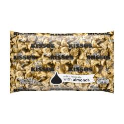Hershey's® Kisses Milk Chocolate With Almonds, 66.7 Oz Bag