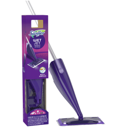 Swiffer® WetJet® Spray Mop Starter Kit, Purple/Silver