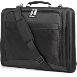 "Mobile Edge Express Carrying Case (Briefcase) for 17"" Chromebook - Black - 1680D Ballistic Nylon - Shoulder Strap, Handle - 12.3"" Height x 17.3"" Width x 3"" Depth"