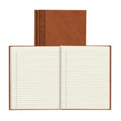"Da Vinci Perfect Binding Executive Hard-Cover Journal, 9 1/4"" x 7 1/4"", Tan"