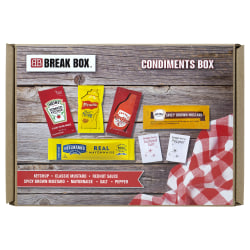 Snack Box Pros Condiment Box, 0.23 Oz, Box Of 515 Packets