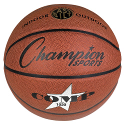 """Champion Sports Official Size Composite Basketball - 29.50"""" - 7"""