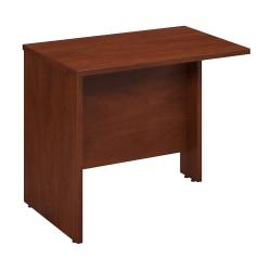 "Bush Business Furniture Components Return Bridge, 36""W, Hansen Cherry, Standard Delivery"