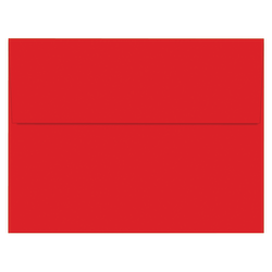 """Great Papers!® Holiday Envelopes, Bright Red, A2 (5 3/4"""" x 4 3/8""""), Pack Of 50"""