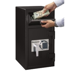 Sentry®Safe DH-134E Depository Safe, 1.6 Cubic Foot Capacity