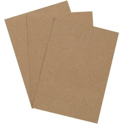 "Office Depot® Brand Chipboard Pads, 5"" x 7"", 100% Recycled, Kraft, Case Of 1,125"