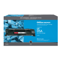 Office Depot® Brand OD05A Remanufactured Black Toner Cartridge Replacement For HP 05A