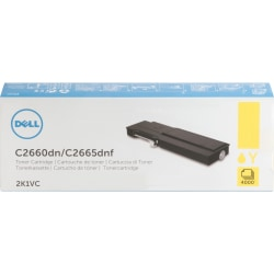 Dell Toner Cartridge - Laser - High Yield - 4000 Pages - Yellow - 1 / Pack