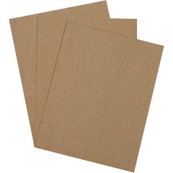 """Office Depot® Brand Chipboard Pads, 16"""" x 20"""", 100% Recycled, Kraft, Case Of 275"""