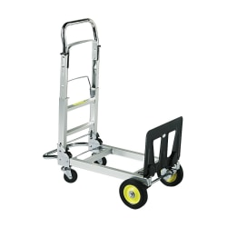 Safco® Hide-Away Convertible Folding Hand Truck