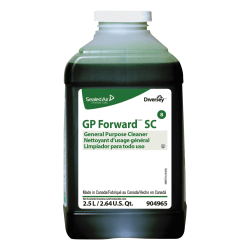 Diversey GP Forward General Purpose Cleaner, Citrus Scent, 2.5L, J-Fill, 2/CT