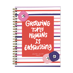 """TF Publishing Medium Academic Weekly/Monthly Planner, 6"""" x 8"""", Exhausted Mom, July 2020 To June 2021"""