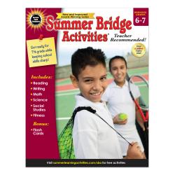 Carson-Dellosa Summer Bridge Activities Workbook, Grades 6-7