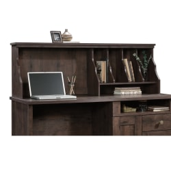 Sauder® New Grange Hutch, Coffee Oak