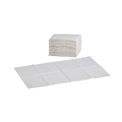 Foundations Waterproof Changing Station Liners, White, Box Of 500