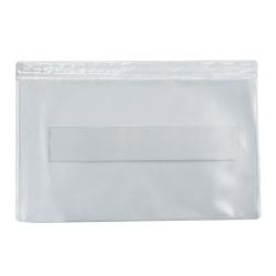 "Office Depot® Brand Super-Scan Press-On Vinyl Envelopes, 3-1/2"" x 2"", Clear, Pack Of 50 Envelopes"