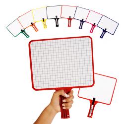 KleenSlate Rectangular Dry Erase Whiteboards Set of 10