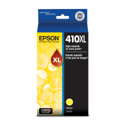 Epson® Claria 410XL High Yield Yellow Ink Cartridge (T410XL420-S)