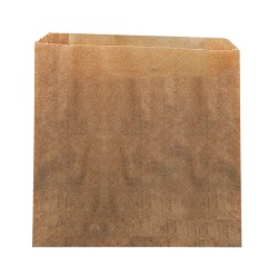 """Hospeco All-in-one Waste Receptacle Paper Liners - 9"""" Width x 10"""" Length x 3.25"""" Depth - Brown - Paper, Wax - 250/Carton - Waste Disposal"""