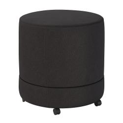Bush Business Furniture Thrive Mobile Pod Seat, Black Fabric, Standard Delivery
