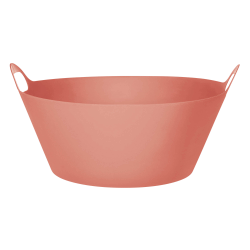 Amscan Round Plastic Party Tub, 8 Gallon, Coral