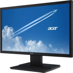 "Acer V246HQL 23.6"" Full HD LED LCD Monitor - 16:9 - Black - Vertical Alignment (VA) - 1920 x 1080 - 16.7 Million Colors - 250 Nit - 5 ms - 60 Hz Refresh Rate - HDMI - VGA - DisplayPort"