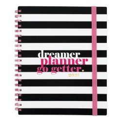 "See Jane Work® Professional Weekly/Monthly Planner, 8-1/2"" x 11"", Multicolor, January To December 2021, SJ108-905"