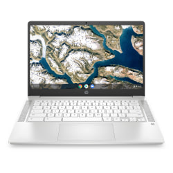 "HP 14a-na0022od Chromebook, 14"" Screen, Intel® Pentium® Silver, 4GB Memory, 64GB Flash Storage, Google™ Chrome OS, 1X497UA#ABA"