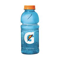 Gatorade Thirst Quencher Bottled Drink - Frost Glacier Freeze Flavor - 20 fl oz (591 mL) - 24 / Carton