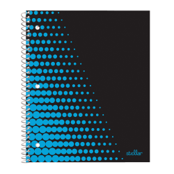 "Office Depot® Brand Stellar Notebook, 9"" x 11"", College Ruled, 160 Pages (80 Sheets), Neon Blue"